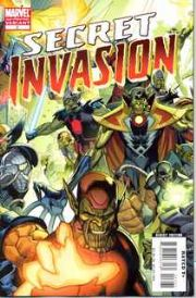 Secret Invasion #2 2nd Second Printing SII Marvel comic book